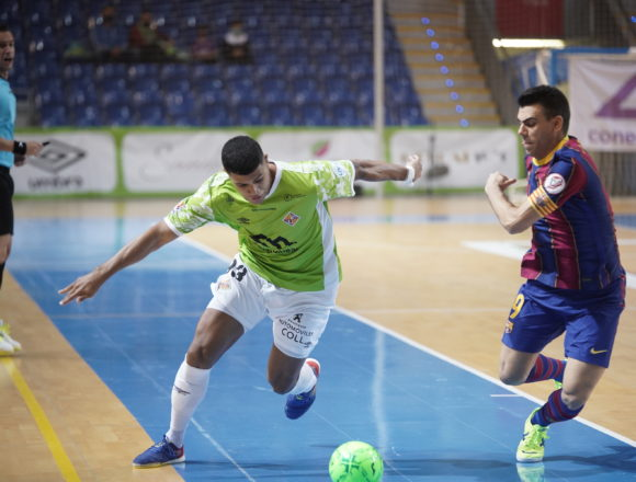 Palma Futsal gana al Barça (4-3) y anuncia la suspensión del partido del sábado ante Movistar Inter en Son Moix