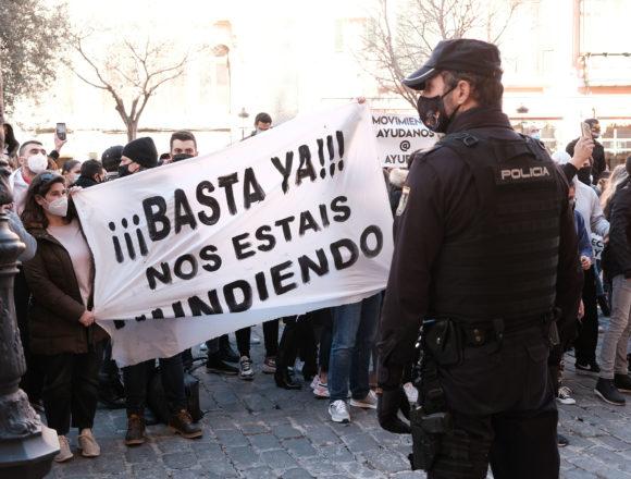 La hostelería vuelve a salir a la calle este viernes en Palma en una marcha motorizada para reclamar más ayudas