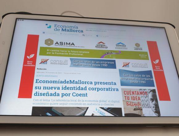 Economía de Mallorca presenta su nueva imagen corporativa