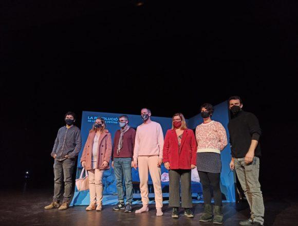 El Teatre Principal de Palma estrena este viernes 'La revolució de les coses petites', una obra de Jaume Miró