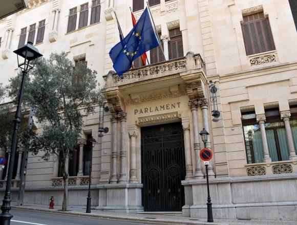 El Parlament conmemora este lunes el Día de Baleares con un acto institucional y un recital de un cuarteto de cuerda