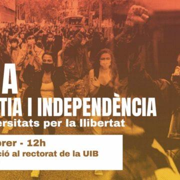 El SEPC convoca una huelga estudiantil y una concentración por Pablo Hasél este lunes en la UIB