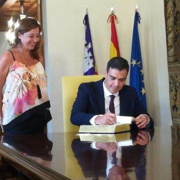 """Armengol resalta que los 11.000 millones para el turismo son """"una buena noticia"""" que se había reclamado desde Baleares"""