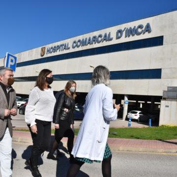 Comienzan las obras de ampliación del Hospital de Inca