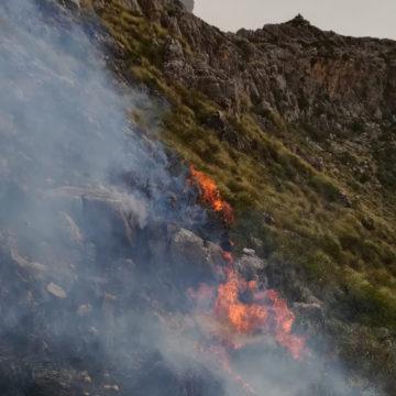 Estabilizado el incendio forestal en la finca de Ariant, tras calcinar unas 49 hectáreas