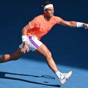 Rafa Nadal se deshace del italiano Fognini y se clasifica para cuartos del Abierto de Australia