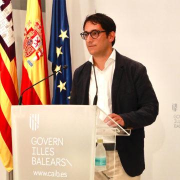 """Negueruela ve """"esencial"""" recuperar el turismo en Baleares """"cuanto antes"""""""