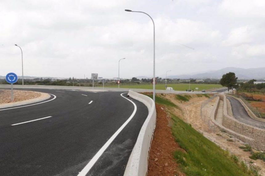 El nuevo acceso a los polígonos de Santa Maria y Consell permanece abierto al tráfico desde este miércoles