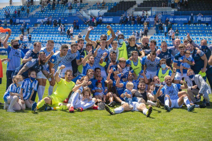 El Atlético Baleares asciende con pleno de victorias a la Segunda B PRO