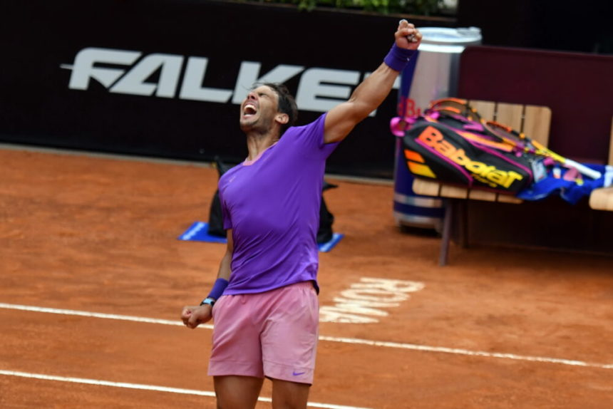 Nadal somete a Opelka y buscará el décimo título en Roma