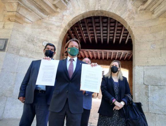 Vox presenta dos recursos en el TSJIB contra el toque de queda aprobado por el Govern