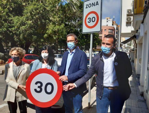 La DGT presenta en Palma la entrada en vigor del límite de velocidad urbana a 30km/h