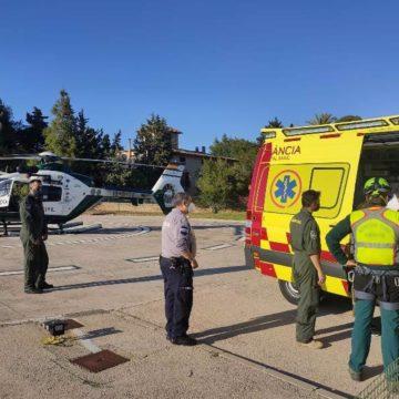 La Guardia Civil rescata a una mujer tras caer por una ladera en Calvià