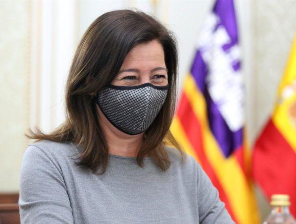 Armengol critica que la incidencia de Madrid lastra la apertura de Baleares al turismo y pide responsabilidad a las CCAA