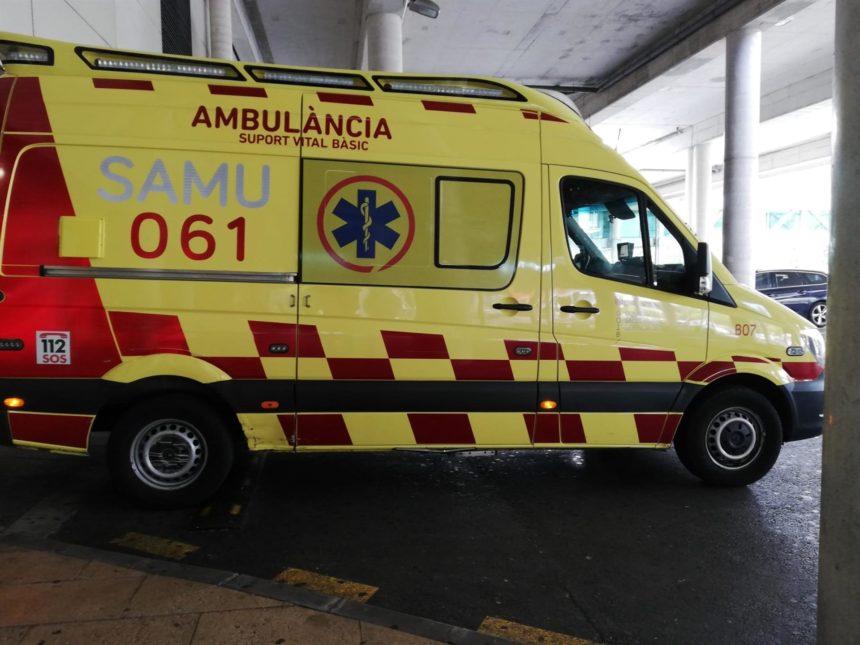 Herido muy grave un motorista de 64 años en un accidente en Palma