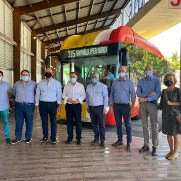 Entra en servicio la nueva línea de bus 315 que conecta Inca, Sa Pobla y Muro con la bahía de Alcúdia