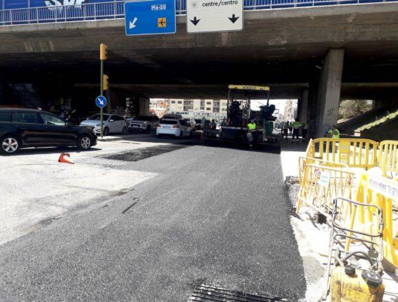 Arrancan los trabajos de renovación del asfaltado en la calle Aragón