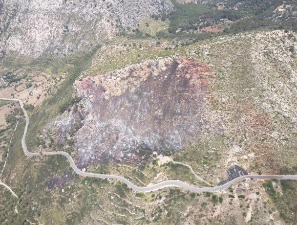 Los incendios forestales queman 80,13 hectáreas en lo que va de año en Baleares