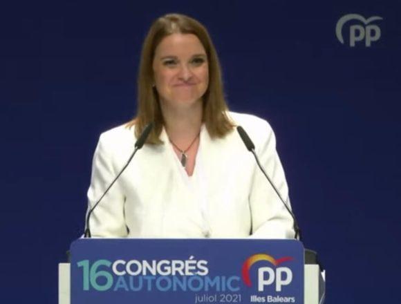 Marga Prohens, elegida la nueva presidenta del PP en Baleares con el 99,72% de los apoyos