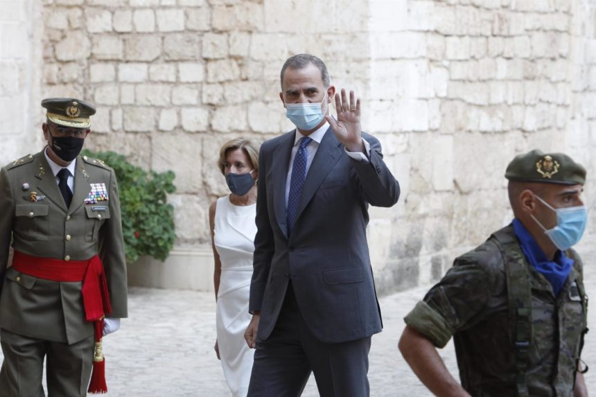 El Rey Felipe VI arranca su agenda oficial en Mallorca con las audiencias a las autoridades baleares