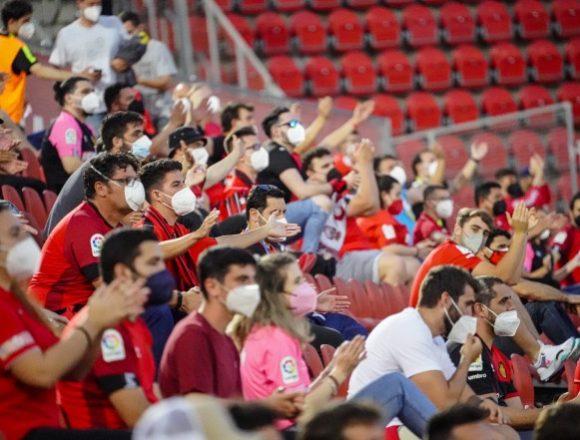 El Mallorca comunica que podrán entrar a Son Moix 11.000 espectadores en los partidos de septiembre