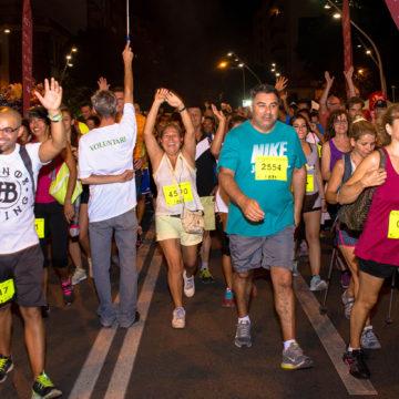 La marcha Des Güell a Lluc a Peu se celebra esta noche con salida en Palma, Inca y otros pueblos de Mallorca