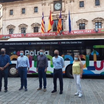 La Línea 2 de la EMT de Palma pasa a ser gratuita de forma permanente