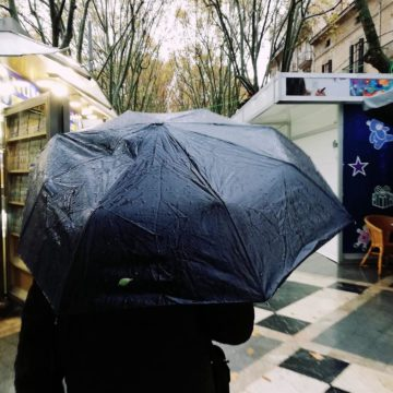 Casi un centenar de incidentes en Mallorca por las fuertes lluvias