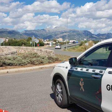 La Guardia Civil detiene a un joven en Inca por intentar robar en una casa