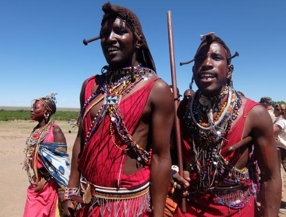 ¡Uno no se puede resistir al encanto de África…!