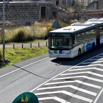 Los autobuses públicos urbanos de Palma transportan a casi 2,5 millones de pasajeros en agosto