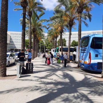 Baleares lideró la llegada de turistas en agosto, con 1,3 millones de visitantes y un gasto de 1.580 millones de euros