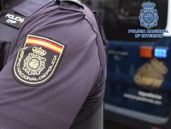 Un agente de la Policía Nacional resulta herido en un accidente de tráfico en Playa de Palma